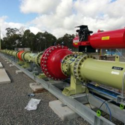 100 metre detonation tube facility